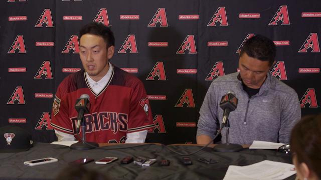 Diamondbacks introduce Yoshihisa Hirano