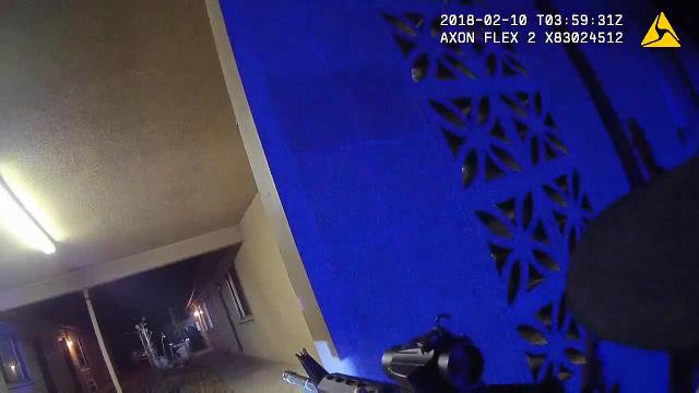 Body-cam footage shows the fatal shooting of John Hamilton by Flagstaff police on Feb. 9, 2018. Flagstaff Police Department