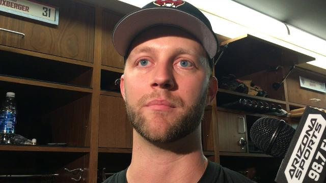Reliever Brad Boxberger, one of the candidates to pitch the ninth inning, talks about the competition heading into camp.