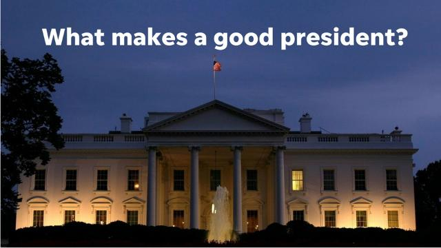 What makes a great president? Intelligence? Integrity? Accomplishments? Sure. But that's not all that the best presidents have.