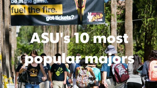 Arizona State University has more than 100,000 students enrolled.