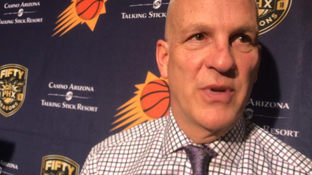 Suns coach Jay Triano discusses Devin Booker's return to the lineup and the Suns' effort in a loss to the Jazz on Wednesday.