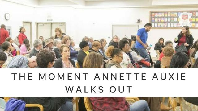 About 100 community members confronted the Chandler Unified School District, accusing it of failing to address a patternof racist incidents.
