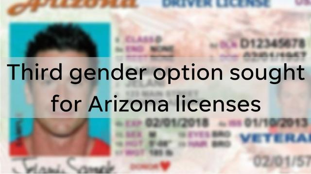Two Democratic lawmakers are trying to give transgender and non-binary Arizonans a way to more accurately represent themselves on state documents.