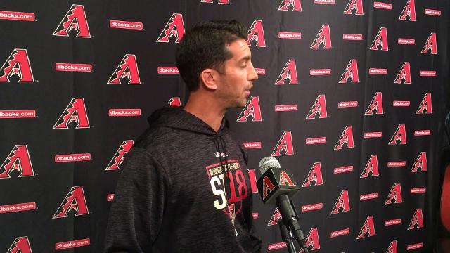 GM Mike Hazen on the D-Backs' new humidor