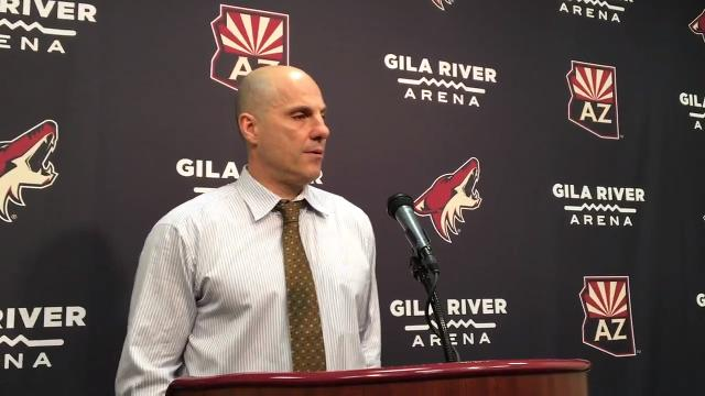 Rick Tocchet on Coyotes' fourth straight win