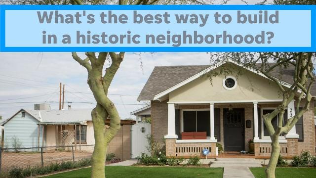 What's so wrong with a new house that doesn't look like everything else in a historic neighborhood? Columnist Joanna Allhands breaks down the building controversy.
