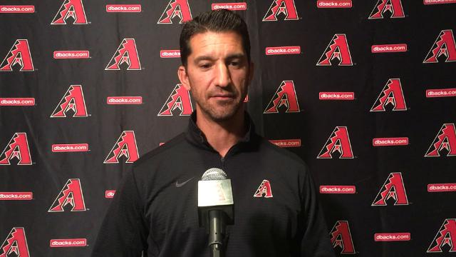 Arizona GM Mike Hazen on Steven Souza Jr. trade