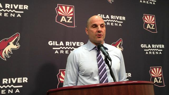 Coyotes coach Tocchet on loss to Flames