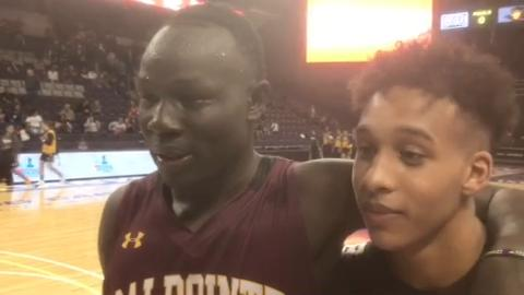 Salpointe's Majok Deng, Evan Nelson talk about chemistry and coming together late in season