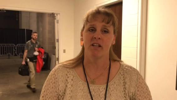 Self explains the feelings after a win and her team's preparation for the state championship game.