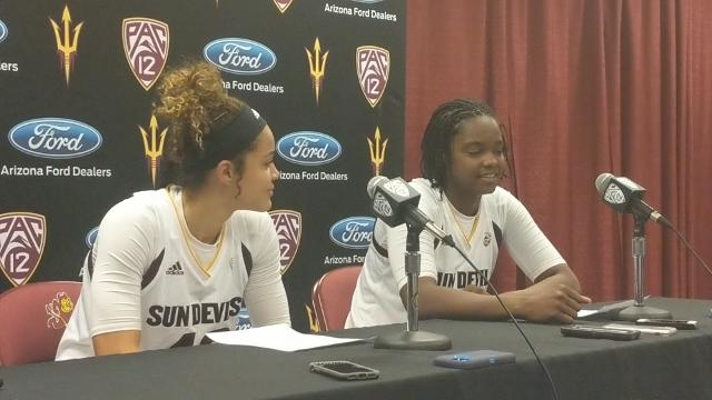 """Johnson-Chapman: """"It takes one quarter to change a game. We have to play all four quarters."""""""
