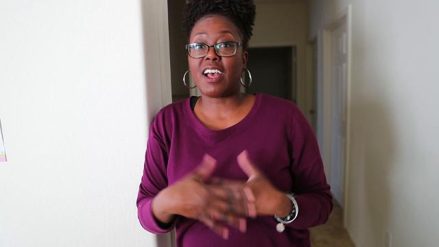 First-time homebuyer Sha Wanda Brewer offers three tips to other first time homebuyers. In August 2017, Brewer bought a $181,000 housein south Phoenix. Michael Chow/azcentral.com