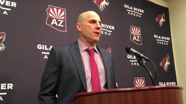 Rick Tocchet on Coyotes' loss to Canucks