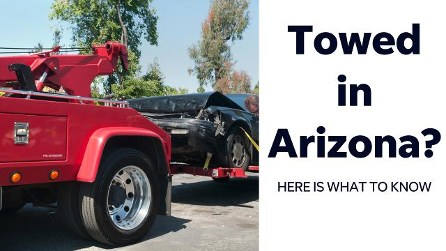 Getting towed is a hassle. Do you have to pay in cash? What if your car is damaged? Reporter Rebekah Sanders has some tips about the rights you have if you're towed in Arizona.