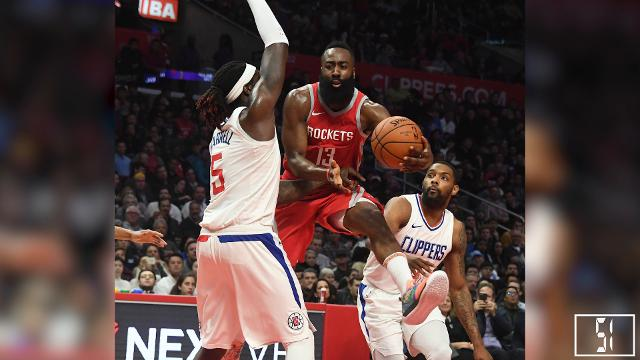 cdb23fc34842 NBA MVP award  Rockets  James Harden leads voting for 2017-18 season