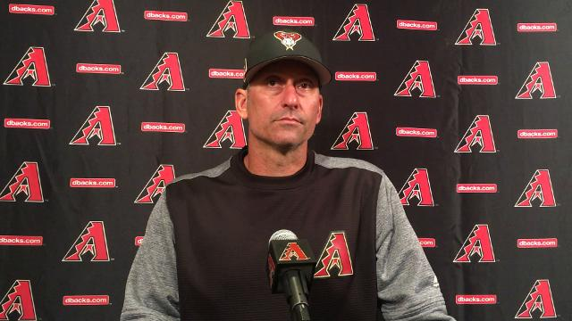 Torey Lovullo on the health of D-Backs' relievers