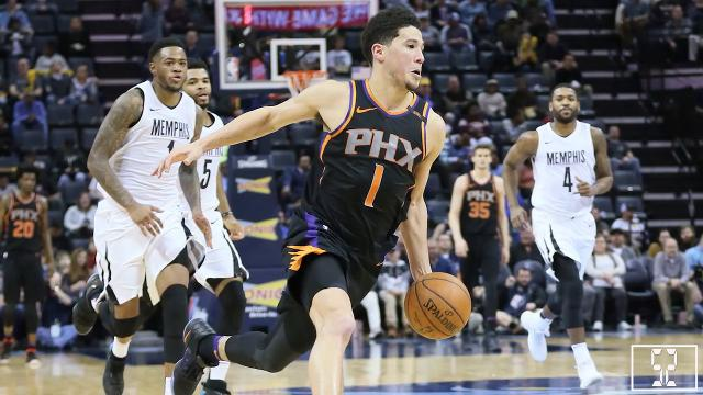 Shot Clock video: Suns no soup-throwers