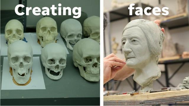 New York school creates forensic sculptures of migrants found in Arizona