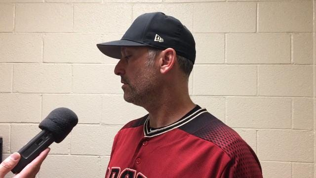 D-Backs manager Lovullo on win over Royals