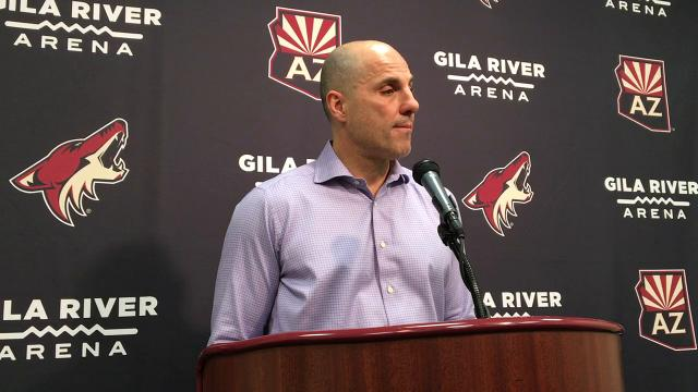 Rick Tocchet on Coyotes' win over Canucks