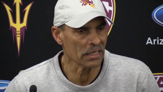 ASU football coach Herm Edwards: Back on the grass, with a whistle