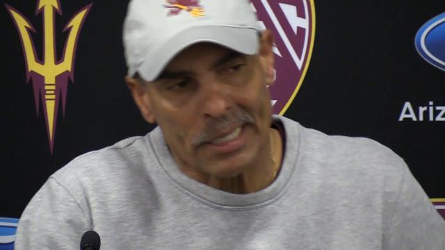 ASU football coach Herm Edwards shared a message with the Sun Devils Wednesday
