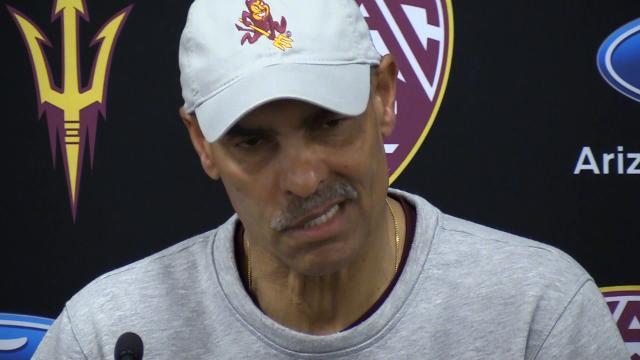 ASU football coach Herm Edwards: New players are coming to take your job.