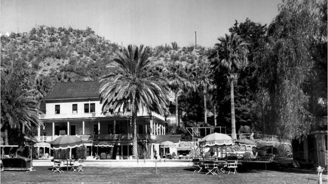 5 things at the new Castle Hot Springs that were not part of the old one