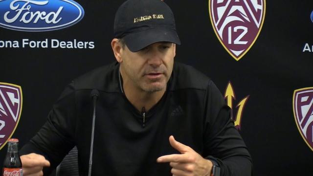ASU's Rob Likens discusses spring workouts