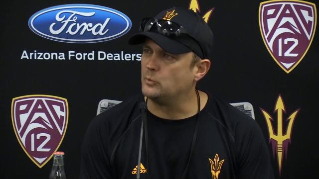 Danny Gonzales on ASU spring workouts