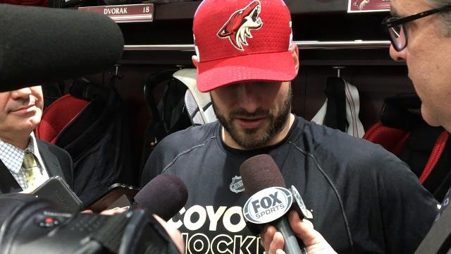 Richardson takes responsibility for Coyotes' loss