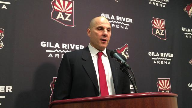 Coyotes head coach Rick Tocchet breaks down his team's loss to the Wild on Saturday.
