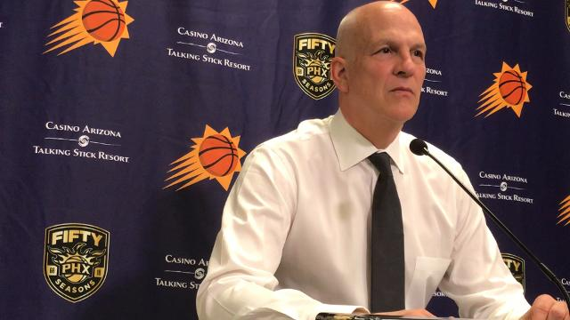Suns interim head coach Jay Triano discusses his team's loss to the Warriors on Saturday.