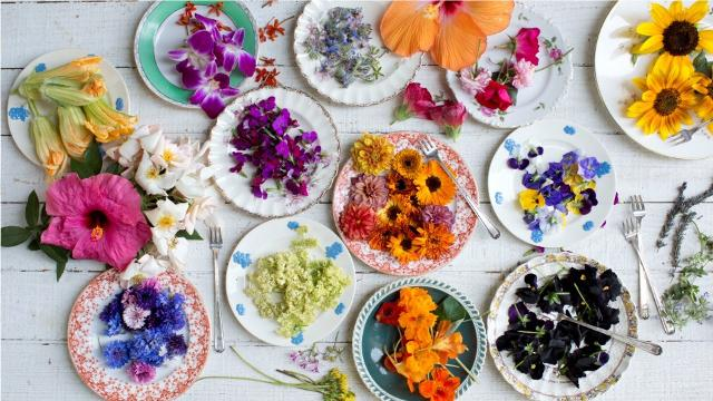 Certain flowers are edible - here's how you can use them in your cooking!