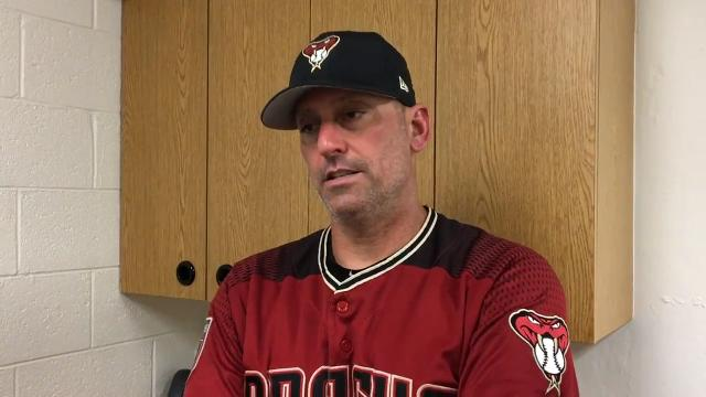 D-Backs' Lovullo on Ray, pitching rotation