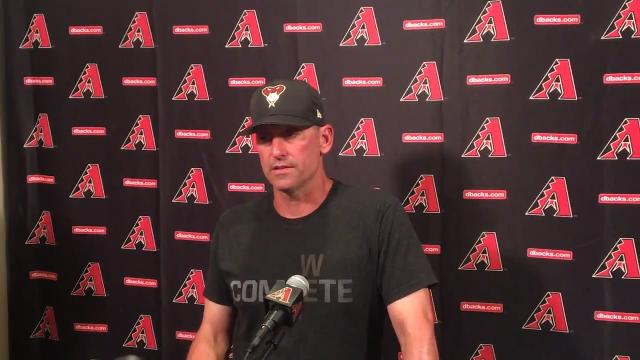 Lovullo: Zack Greinke 'felt good' after workout