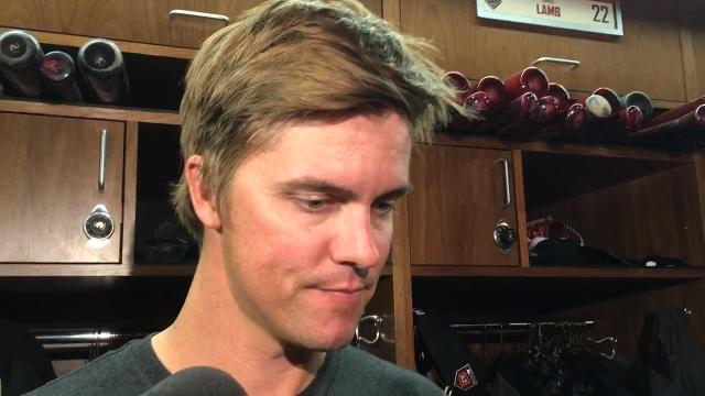 Zack Greinke after facing minor leaguers