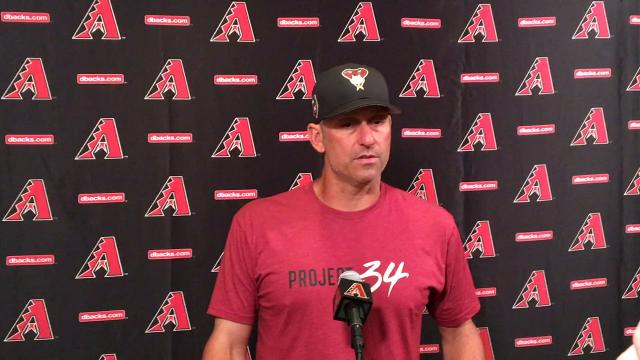 Lovullo on Souza's injury diagnosis