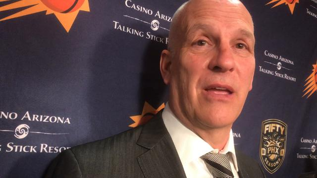 Suns interim coach Jay Triano discusses Friday's last-second loss in Houston.