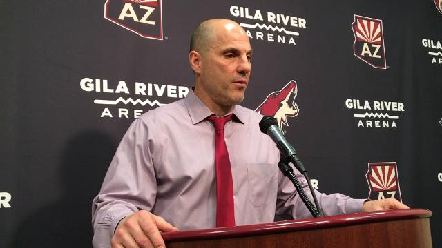 Coyotes routed the Blues, 6-0