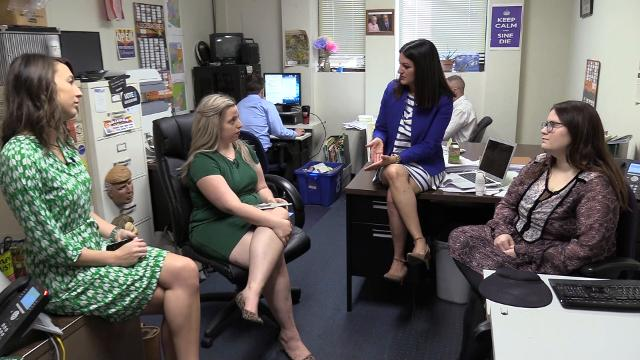 The Republic's politics team talks a citizenship question on the 2020 census hurting Arizona more than other states, going inside a 'D'-ranked school and if DACA students will continue receiving in-state tuition April 3, 2018. Carly Henry/azcentral