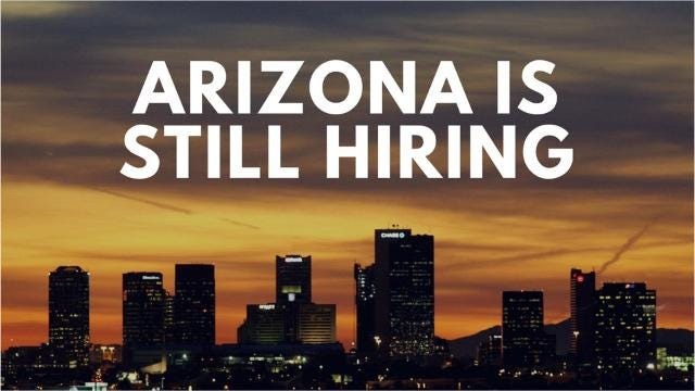 As Arizona employers complainthatit's getting more difficult to fill openings, manyare now offering enhancedincentives to attract workers.