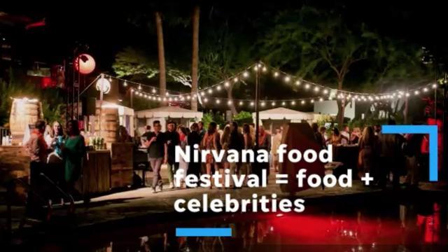 Celebs galore at Nirvana Food & Wine