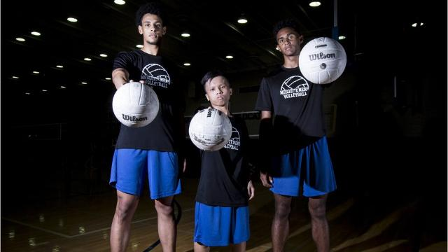 Brandon Kwan, a 4-foot-9, 108-pound senior volleyball and basketball player, is not letting hypochondroplasia, a genetic disorder, get in the way of his goals in life.