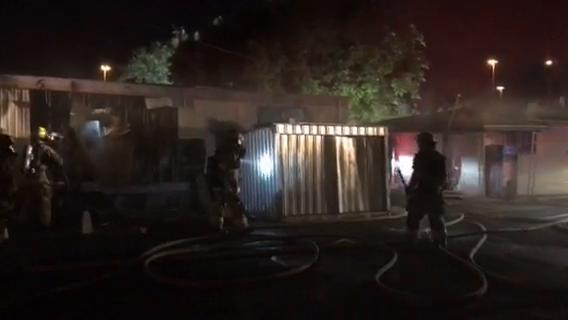 The fire ignited at a mobile home near Thomas Road and the Interstate 17 in Phoenix on  April 21.