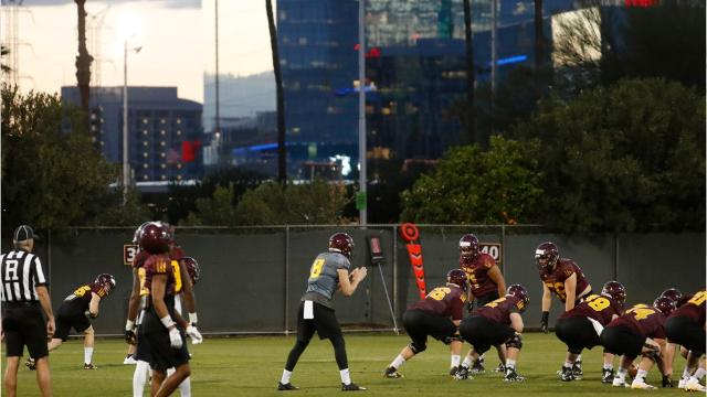 With Blake Barnett planning to transfer, ASU has three scholarship QBs on the roster for the 2018 season.