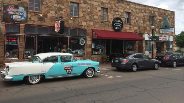 """Williams may call itselfthe """"Gateway to the Grand Canyon"""" but it is a Route 66 burg right down to its core."""