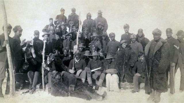 After the Civil War, African-American infantry and cavalry members headed West. Here are five things to know about them.