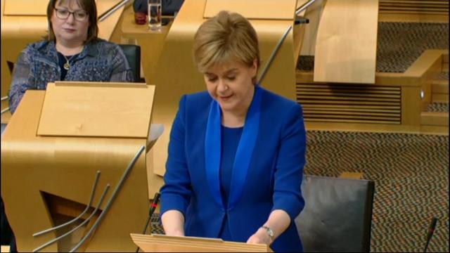 Scottish leader Nicola Sturgeon said Tuesday she changed her mind about seeking a second independence referendum, telling lawmakers she is postponing plans to introduce legislation for a vote on whether Scotland should break away from the UK. (June 27)